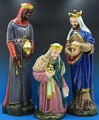 Indoor Outdoor Wisemen for Nativity Set or Scene - Nativity Scene Sets Outdoor