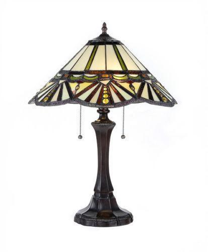 tiffany style lamp shades ebay. Black Bedroom Furniture Sets. Home Design Ideas