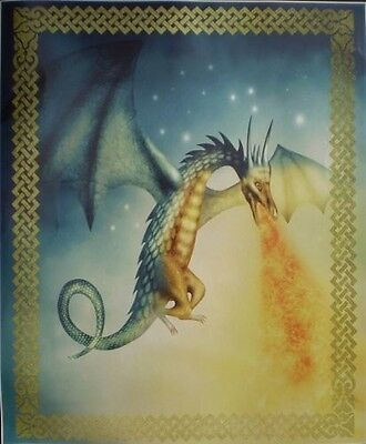 Super Soft Fire Breathing Dragon Fleece Throw ...