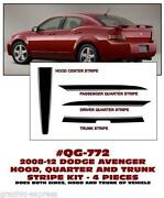 Dodge Avenger Decals