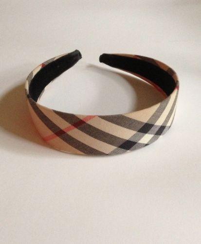 burberry headband hair accessories ebay