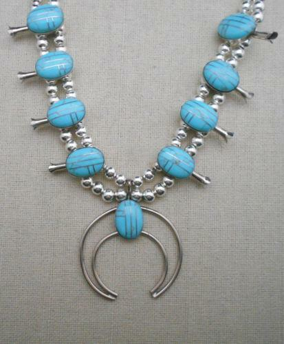 64fb0610f Squash Blossom Necklace | eBay