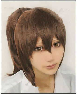 For Halloween Cosplay Spirited Away Chihiro Ogino Brown Costume - Spirit Halloween Brown Wig