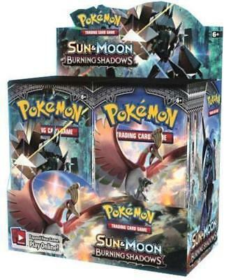 Pokemon Sun & Moon Burning Shadows Booster Box - Sealed - Free Shipping!