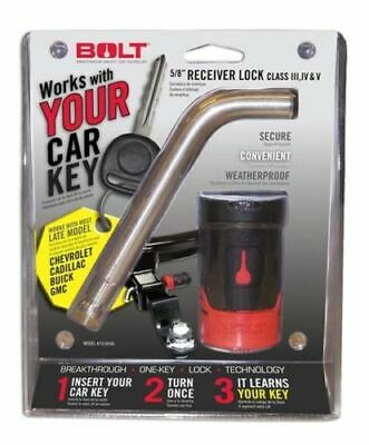 Bolt Lock 7018446 5/8 Receiver Hitch Lock GM Late Model 2007-13 Ignition Key 8 Model Receiver Hitch