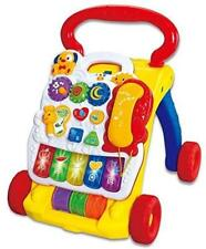 2 in 1 Musical Baby Activity Walker & Childrens Learning Centre Push Along Toy