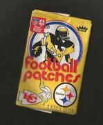 Unopened Football Cards