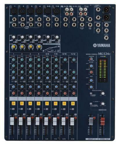 yamaha 12 channel mixer ebay. Black Bedroom Furniture Sets. Home Design Ideas
