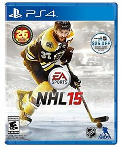 NHL 15 for ps4 mint condition