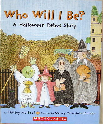 B000OEUW1Y Who Will I Be? : A Halloween Rebus Story - Halloween Rebus