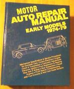 Motors Auto Repair Manual
