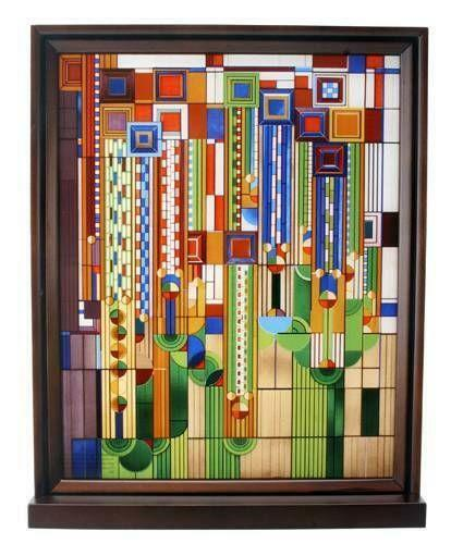 Frank Lloyd Wright Stained Glass Ebay