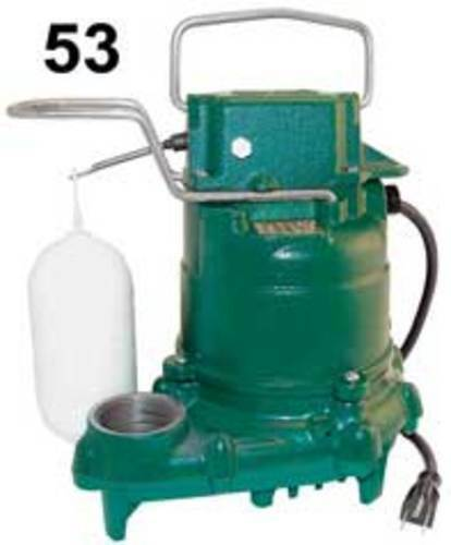 Zoeller 53-0001 Mighty Mate 1/3 Hp Automatic Submersible Sump Pump