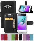 Leather Mobile Phone Flip Cases for Samsung Galaxy J1