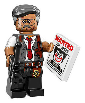 NEW LEGO BATMAN MOVIE MINIFIGURES SERIES 71017 - Commissioner Gordon