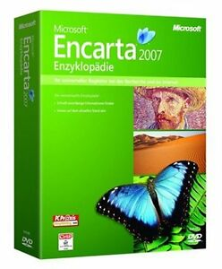 PC Microsoft Encarta 2007 Enzyklopädie PREMIUM + KIDS