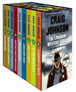 NEW The Longmire Mystery Series Boxed Set Volumes 1-9 (Walt Longmire Mystery)