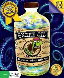 BOARD / CARD GAME - SNAKE OIL