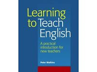 Learning to Teach English: A Practical Introduction for New Teachers. Peter Watkins