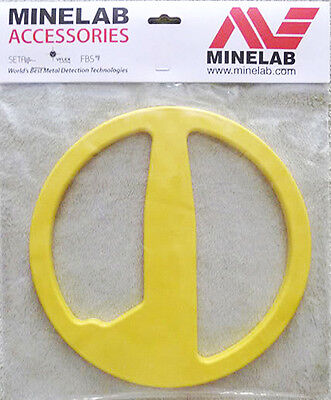 "MINELAB  EXCALIBUR II  10"" YELLOW COLOR COIL COVER ~ NEW !"