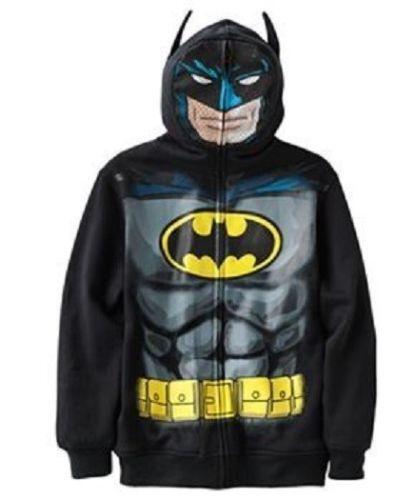 Batman hoodie boys