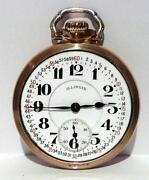 Illinois 21 Jewel Pocket Watch