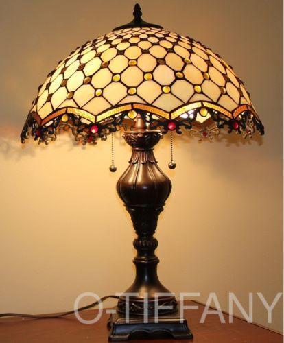glass table lamp shade ebay. Black Bedroom Furniture Sets. Home Design Ideas