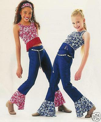 Blue Foil Cowgirl Dance Costume Adult Small Medium Large Clearance Groups Avail.