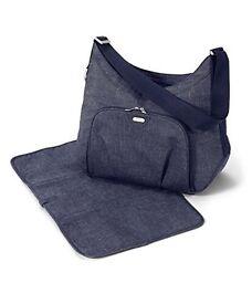 Mamas and Papas Ellis changing bag denim limited edition brand new