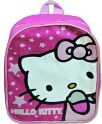 Hello Kitty Mini Backpack 10 inch Pink Stars new with tag