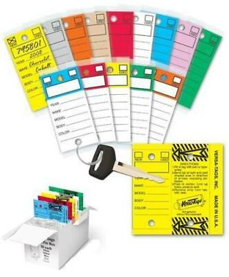 Car Dealers 250 Key Tags Self Laminating With Metal Rings Wholesale Priced