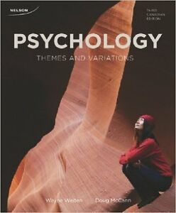 Psychology Themes and Variations 3rd Canadian Edition