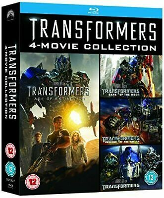 Transformers 4 Movie Collection with Slipcover (Blu-ray)