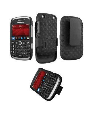 *Verizon OEM Shell Holster Combo Clip Case For Blackberry Curve 9315 9310 9320