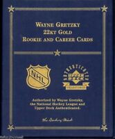 Wayne Gretzky Danberry Mint 22kt Gold Card Collection