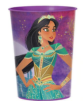 Princess Jasmine Birthday Party Supplies (ALADDIN Princess Jasmine plastic FAVOR CUP Birthday Party Supplies 16oz)