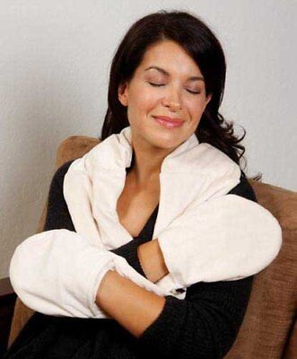 Aromatherapy Moist Heat Neck Wrap - NECK HAND Wrap SCARF Bed Buddy Arthritis Aches Strain Aromatherapy LAVENDER Heat
