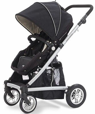 Valco Spark Stroller In Black Out - Brand Model Free Ground Shipping