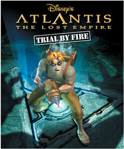 Atlantis: The Lost Empire - Trial by Fire, PC Game NEW IN BOX