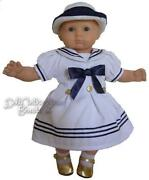 Doll Sailor Hat