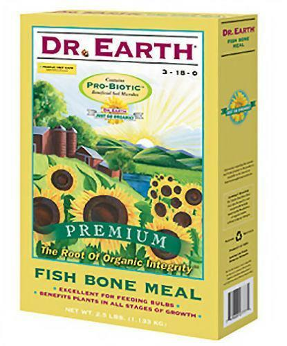 Fish bone meal fertilizer soil amendments ebay for Fish bone meal