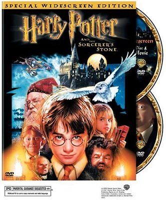Harry Potter and the Sorcerers Stone (DVD, 2002, 2-Disc, Widescreen)