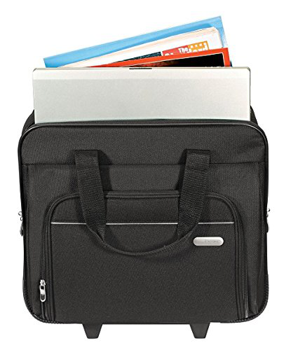 Targus Metro Rolling Case For 16-inch Laptop, Black (Tbr003us) 10