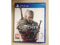 The Witcher III 3 Wild Hunt PS4