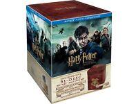 Harry Potter Wizard's Collection Box Set (Blu-ray + DVD + UV Copy) [2012] [Region Free]