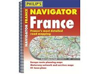 Road Atlas of France 🇫🇷 and Europe — BRAND NEW