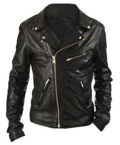 43db59fd23670 Womens Vintage Leather Biker Jackets