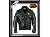 Perfecto-Brando-Motorbike-Leather Jacket CE Approved