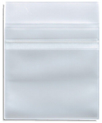 50-pak Clear Plastic Poly Cpp Cd Sleeves With Resealable Flap
