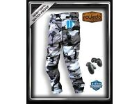 Pavilion-End-Motorbike Cordura Trouser CE Approved Armours